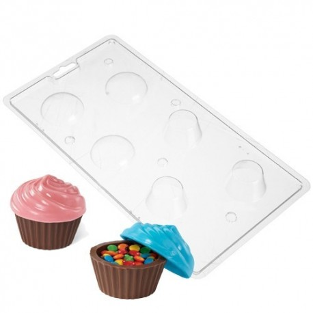 Molde Cajita Cupcake