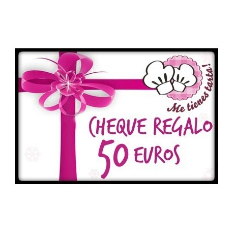 Cheque regalo 50 euros