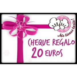 Cheque regalo 20 euros