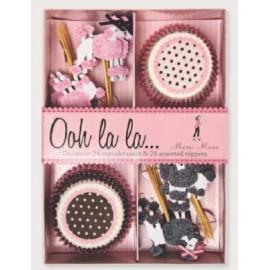 Kit cupcakes Poodles. 24 uds
