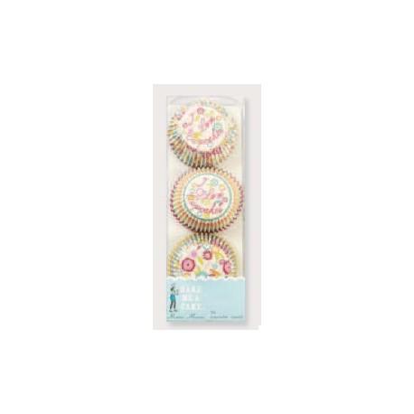 Cápsulas mini cupcakes I love cupcakes. 96 uds