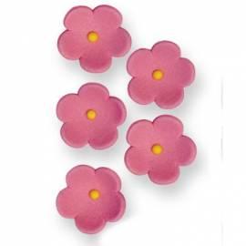 Flores de azúcar. Color Blanco. 30 uds
