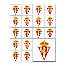 Escudo de fútbol Sporting - Impresiones en papel comestible