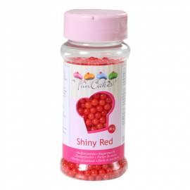 Perlas de Azúcar -Rojo Brillante- 80g